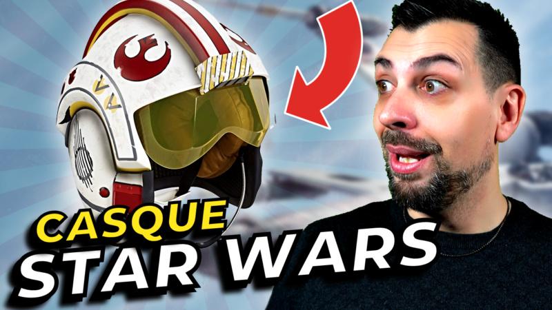 STAR WARS | Casque Luke Skywalker (black series) Casque10
