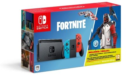 Nintendo Switch : Un pack Fortnite incluant du contenu spécial Cid_3810