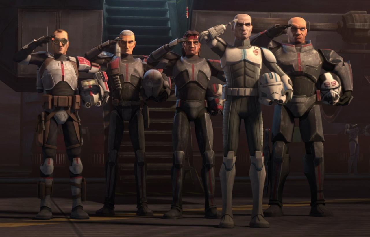 Star Wars: The Bad Batch - Nouvelle série d'animation Lucasfilm sur Disney+ Clone_10