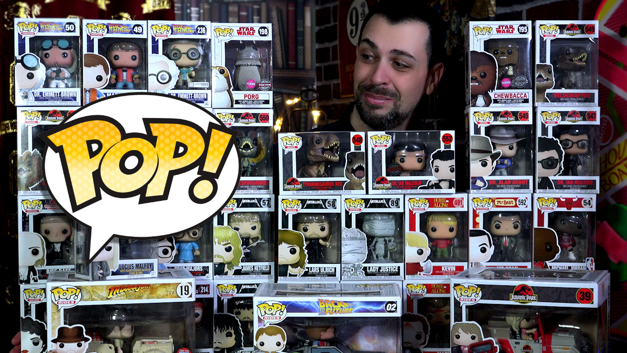 MA COLLECTION DE FIGURINES FUNKO POP! | Ejayremy Collec10