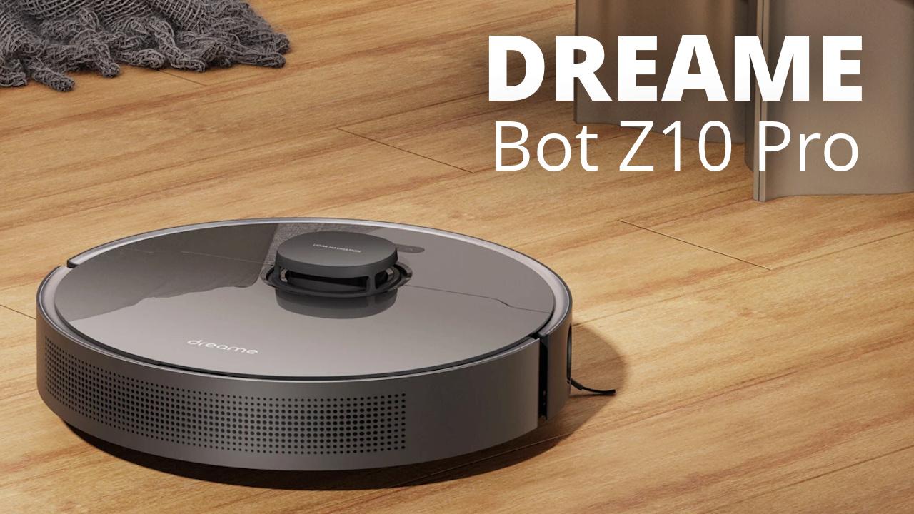 DREAME Z10 PRO - Aspirateur robot autonettoyant Dreame11