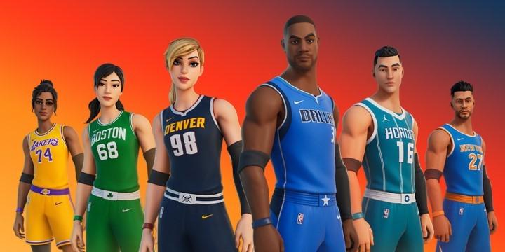 FORTNITE x NBA : le crossover se fait créatif Fortni23