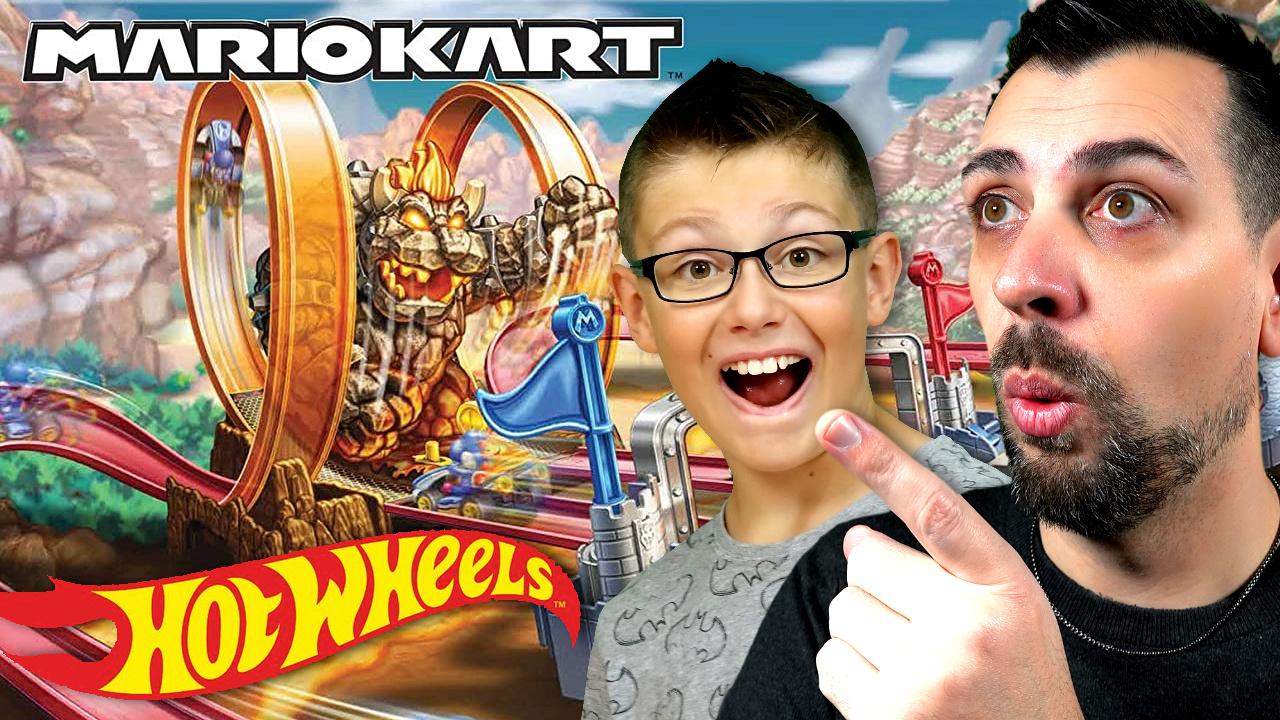Circuit Hot Wheels Mario Kart Chaos au château de Bowser Hot_wh10