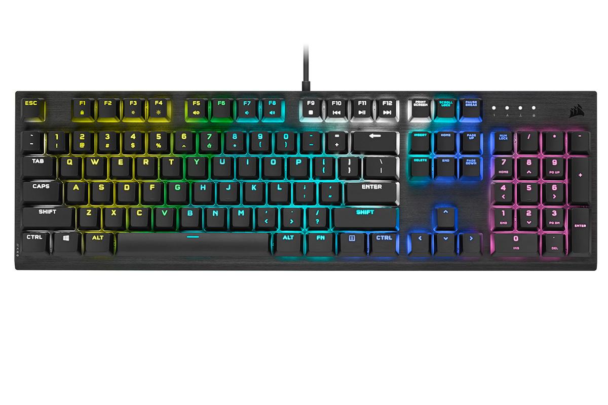 CORSAIR K60 RGB PRO - Présentation du nouveau clavier gaming mécanique K60_rg11