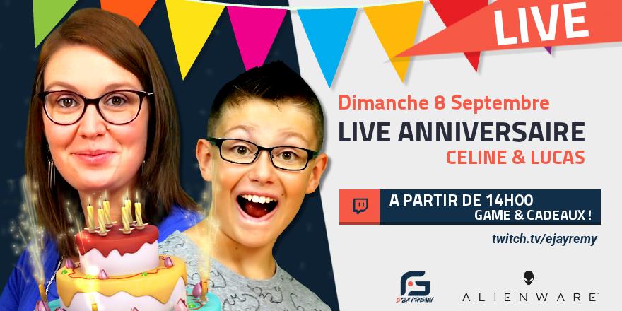 Live anniversaire Lucas & Céline Live_a10
