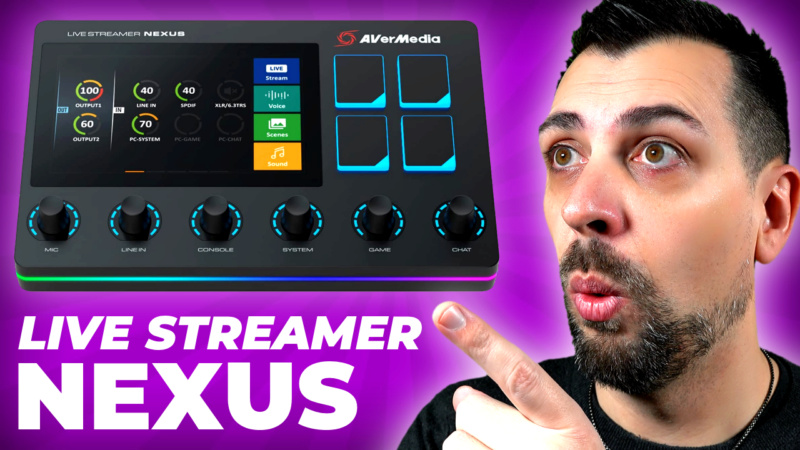 Avermedia Live Streamer NEXUS Live_s11