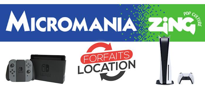 Micromania Zing propose la location de consoles Microm10