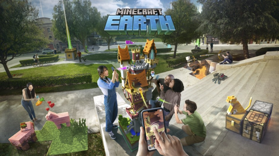 Minecraft Earth - Un tout nouveau jeu mobile  en réalité augmentée Minecr10