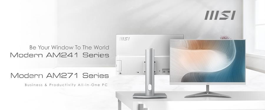 MSI dévoile ses All-in-One PC séries AM241 et AM271 Ms1110