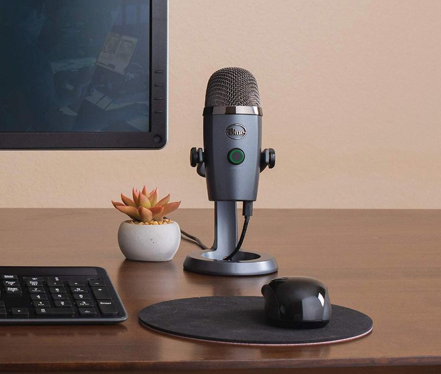 Blue présente le micro USB Yeti Nano dédié à l'enregistrement et au streaming Nano210