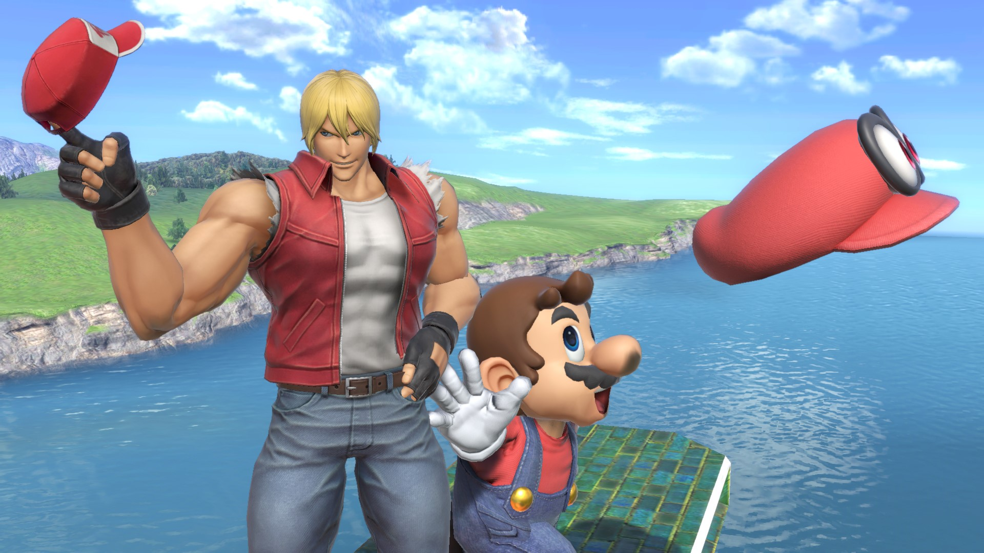 Super Smash Bros. Ultimate : Terry Bogard, de la série FATAL FURY arrive Ninten11