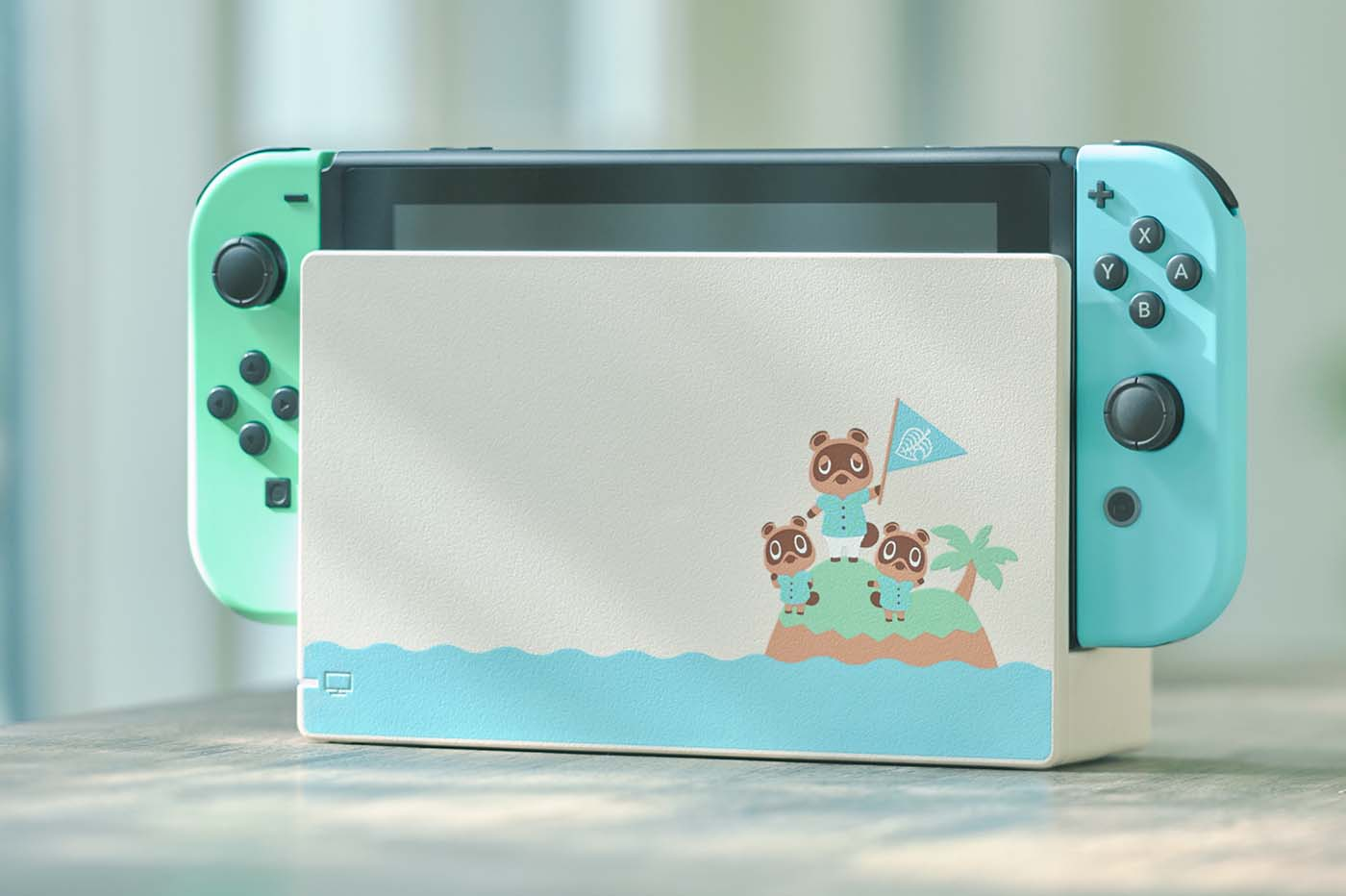 Une Nintendo Switch aux couleurs d'Animal Crossing : New Horizons sera dispo en mars Ninten13