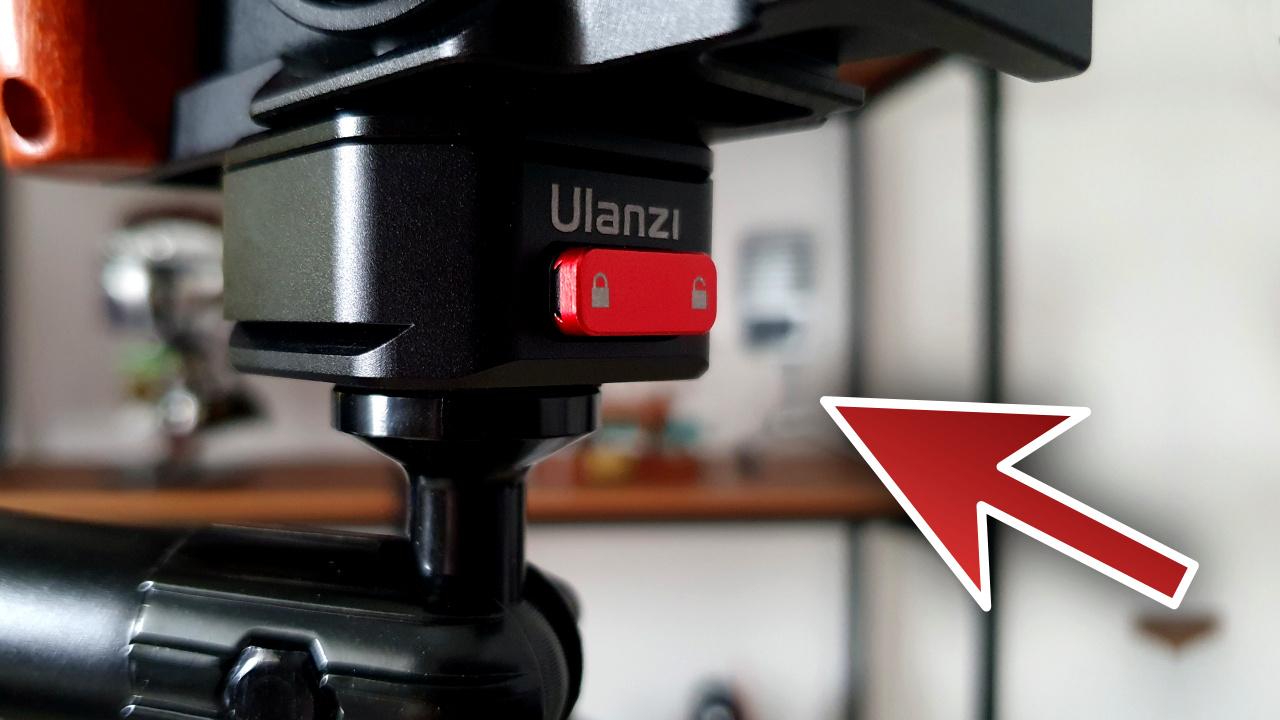 ULANZI CLAW Idéal pour votre caméra vidéo Ulanzi10