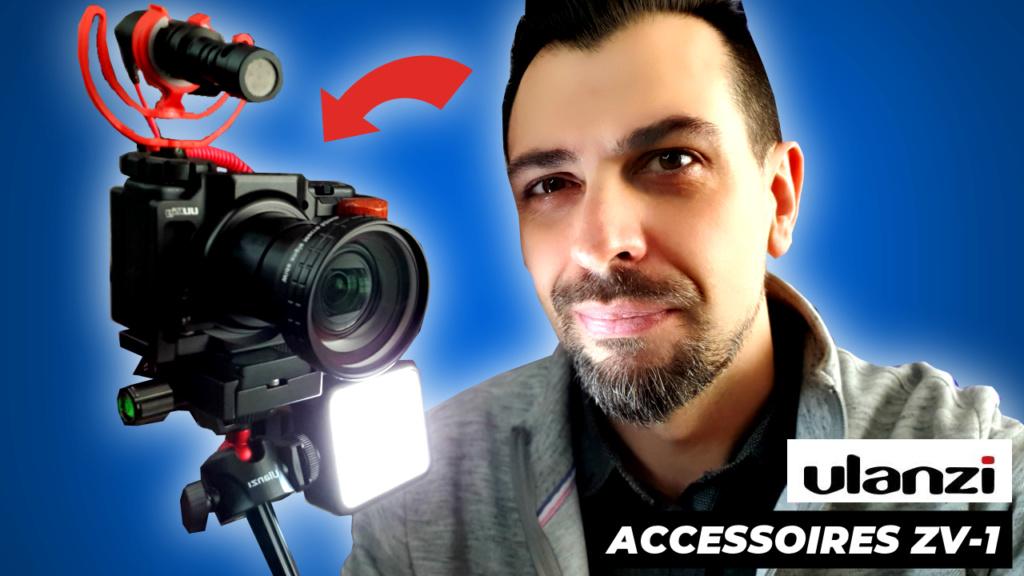 Mes accessoires de tournage vidéo Ulanzi10