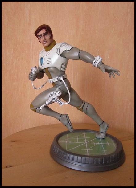 Capitaine Flam statue Capita10