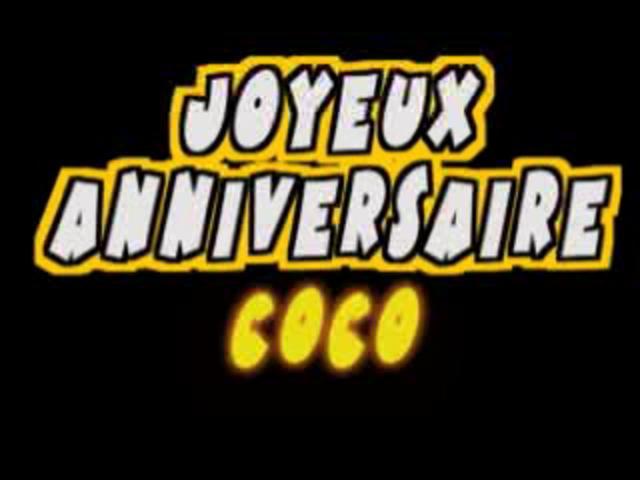 Bon Anniversaire Coco