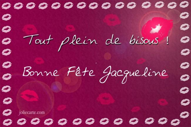 Bonne fête Jacqueline Jacque10
