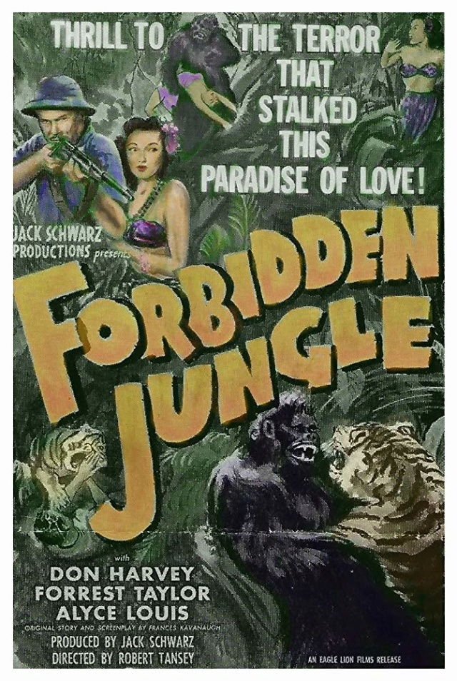 FORBIDDEN JUNGLE - 1950 Forbid10