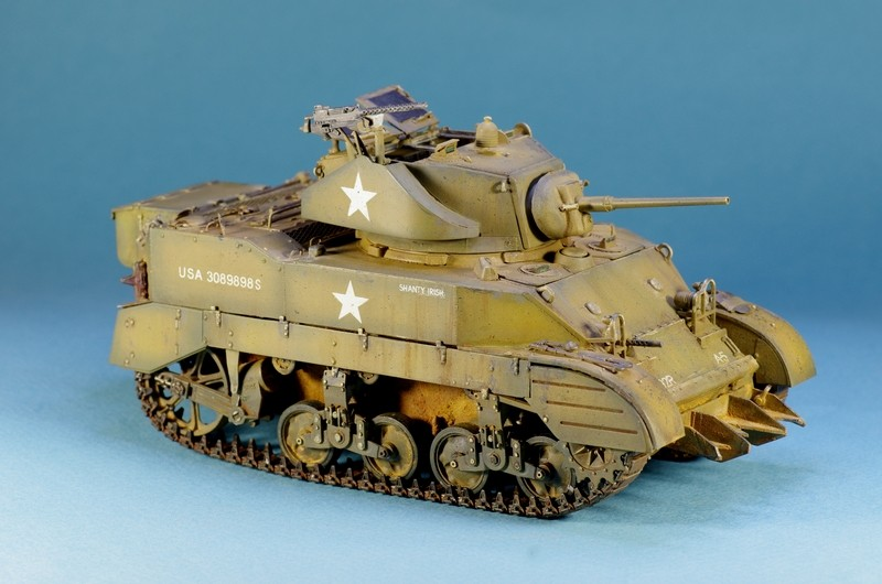 M5 A1 Stuart AFV 1/35 Imgp4810