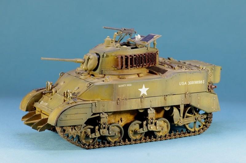 M5 A1 Stuart AFV 1/35 Imgp4811