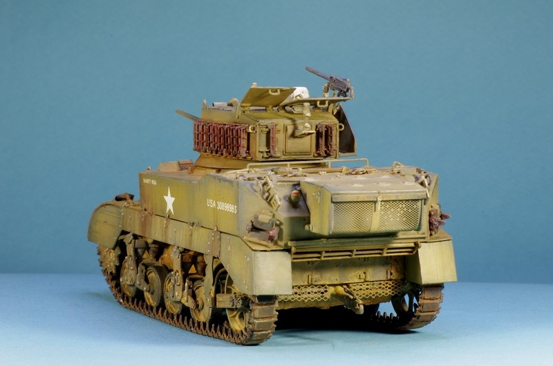 M5 A1 Stuart AFV 1/35 Imgp4812