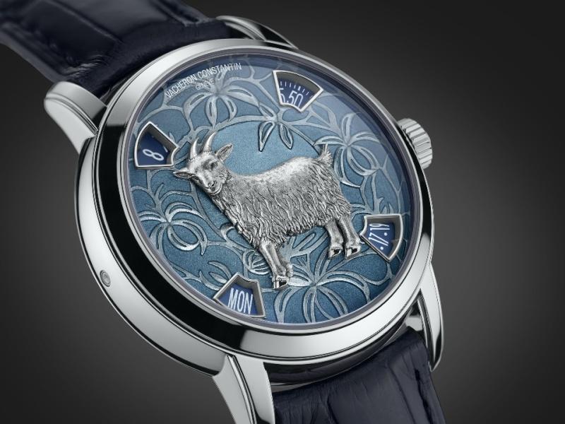 VACHERON CONSTANTIN : La Légende du Zodiaque chinois, l'année de la chèvre L_860710