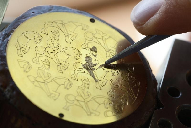 VACHERON CONSTANTIN - Métiers d'Art Les Univers Infinis Making12