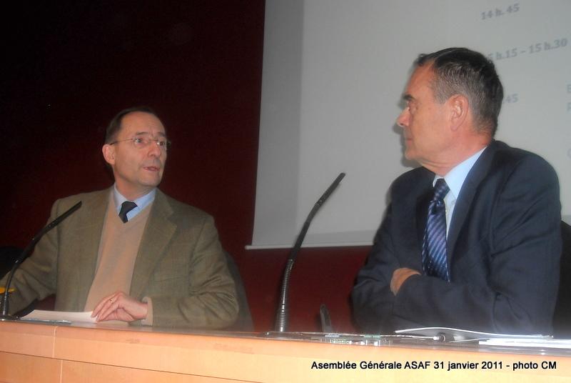 ASAF - Réunion des délégués et Assemblée Général  31 janvier 2011 Ag_asa14