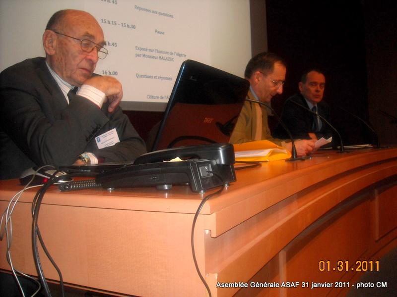 ASAF - Réunion des délégués et Assemblée Général  31 janvier 2011 Ag_asa15