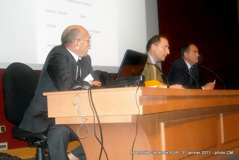 ASAF - Réunion des délégués et Assemblée Général  31 janvier 2011 Ag_asa19