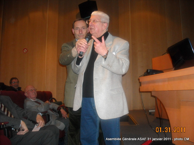 ASAF - Réunion des délégués et Assemblée Général  31 janvier 2011 Ag_asa20