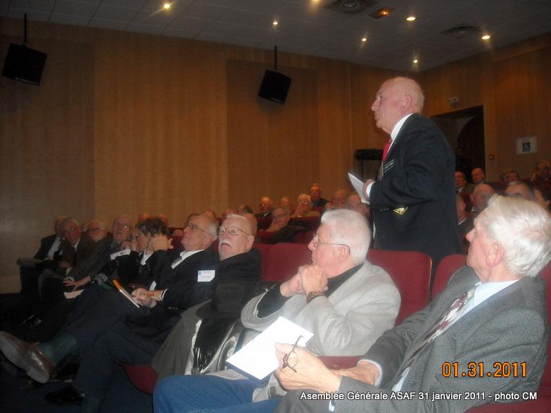 ASAF - Réunion des délégués et Assemblée Général  31 janvier 2011 Ag_asa21