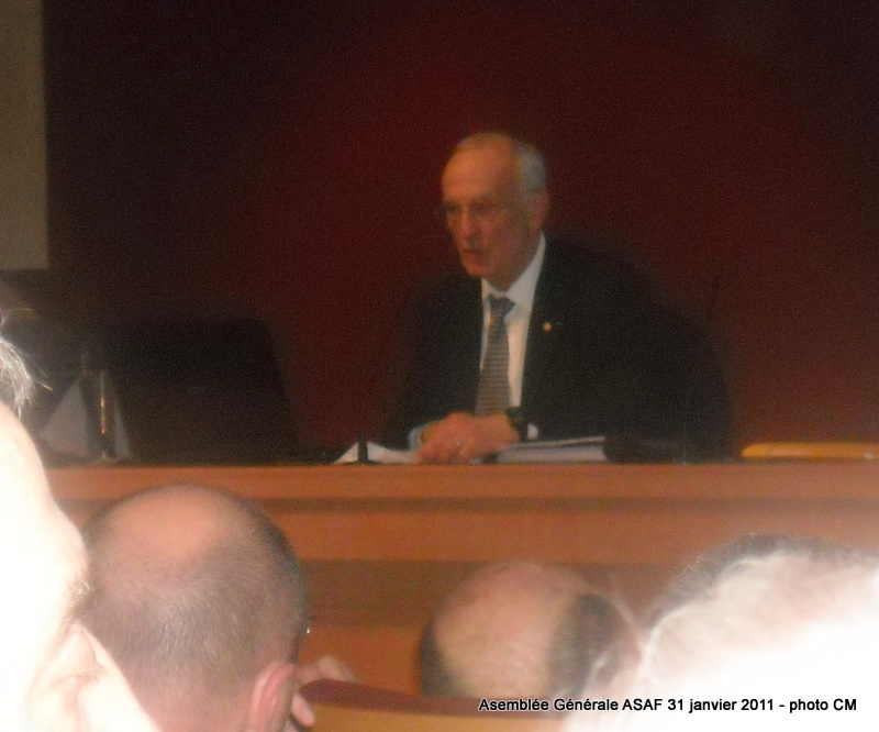 ASAF - Réunion des délégués et Assemblée Général  31 janvier 2011 Ag_asa22