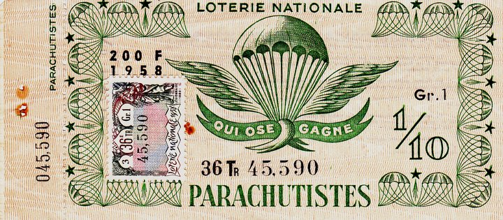 Qui ose gagne - la loterie Loteri10