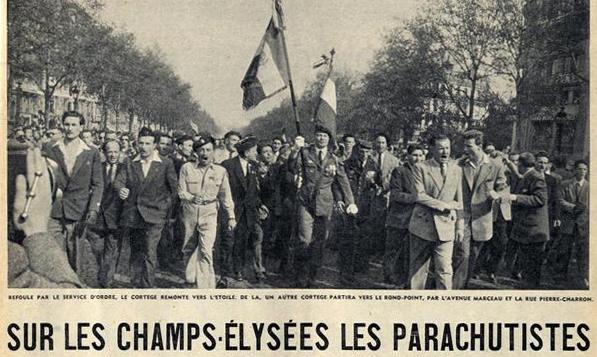 LES PARAS REMONTAIENT DEJA LES CHAMPS...9 mai 1954! Paras-10