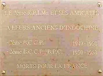 La Bretagne et les parachutistes Plaque10