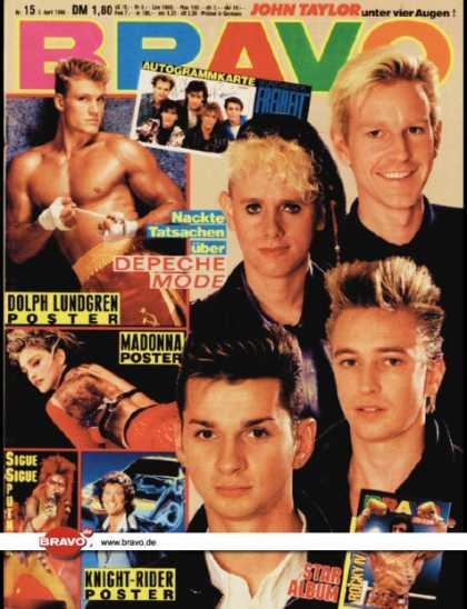 Revue BRAVO N°15 avril 1986 - Stallone Rocky 4  1513-110