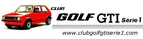 CLUB GOLF GTI série1