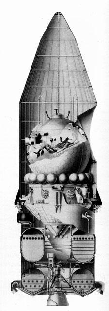 Module de service du Vostok 112-110