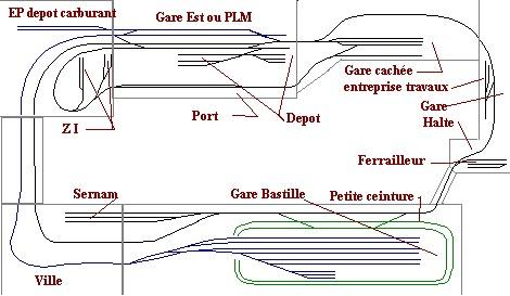 La Bastille - Verneuil le Lac Plan5a10