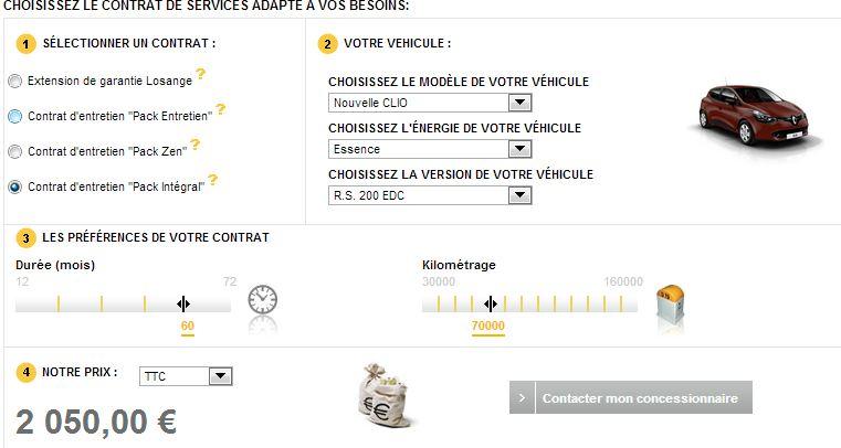[CLio 4 RS] Clio 4 RS au prix de 24 990 € pour la France Entret10
