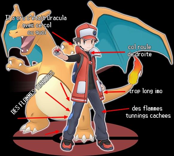 Podium, sparkles et coiffures de ouf: la mode Pokémon ~ (Now: Red) - Page 2 Red10