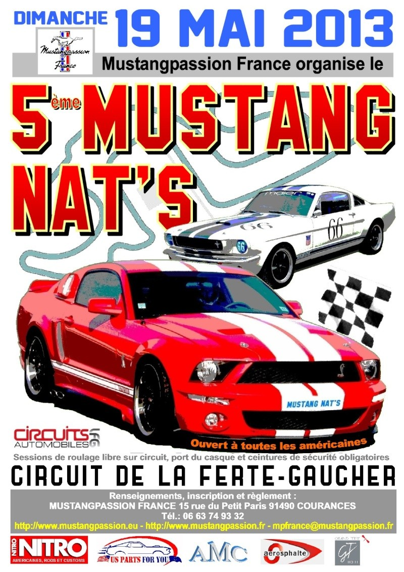 5eme Mustang Nat's LFG 19/05/2013 Affich10