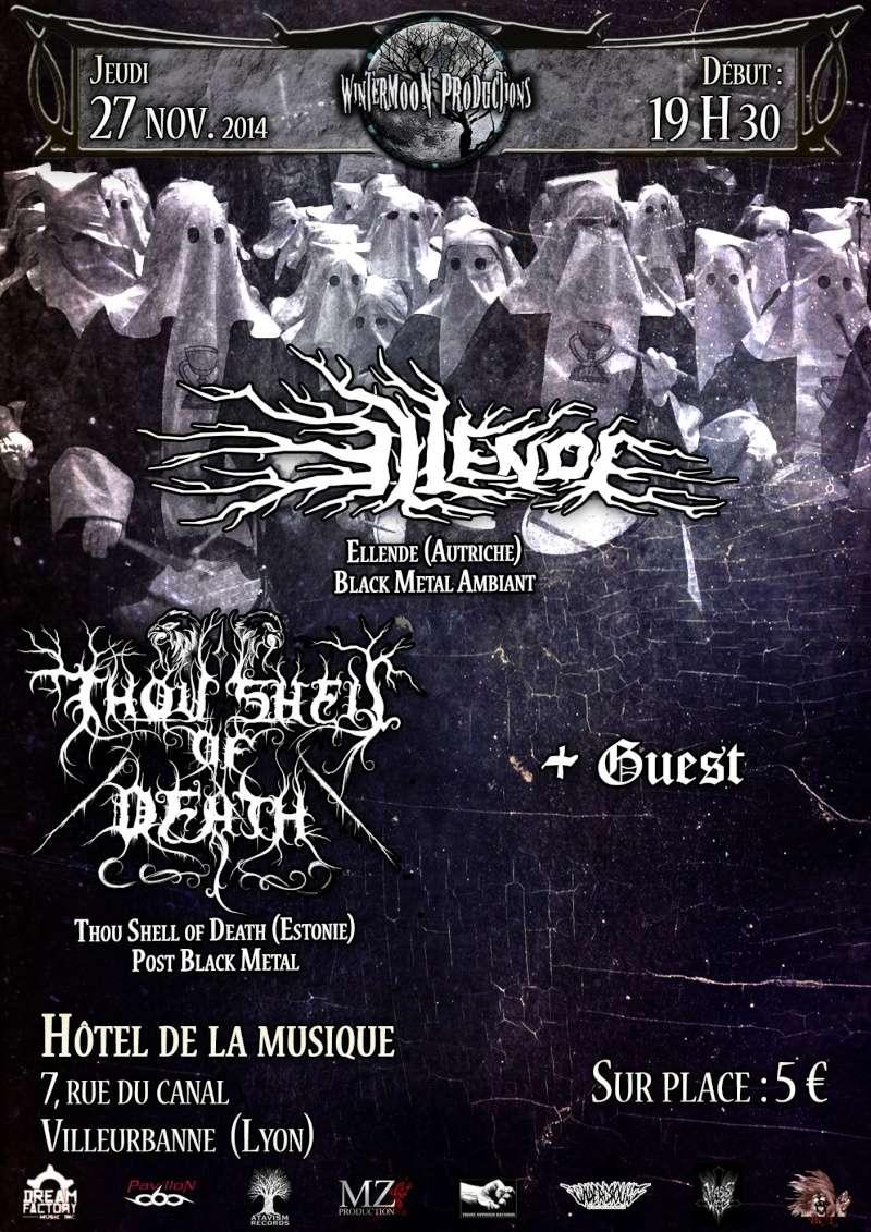 27/11/14 - Ellende + Thou Shell of Death - Lyon Ellend10