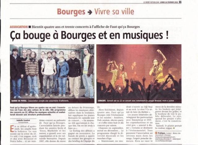 L'association Faut Qu'ça Bourges 21604210