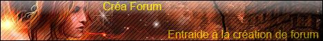 Créa - Forum :: Aide à la création de forums Craafo12