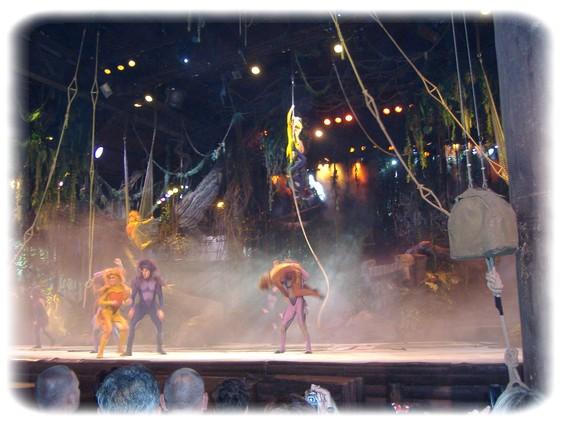 Spectacle: Tarzan, la rencontre. (représentation annulée pour 2013) Dscf2813
