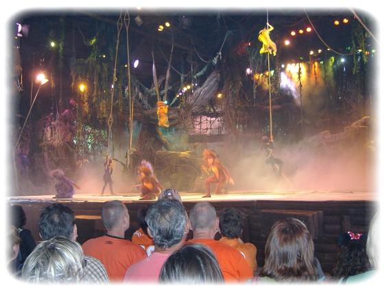 Spectacle: Tarzan, la rencontre. (représentation annulée pour 2013) Dscf2814