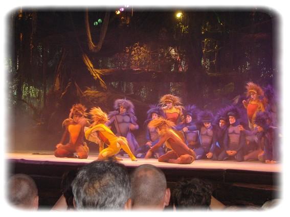 Spectacle: Tarzan, la rencontre. (représentation annulée pour 2013) Dscf2821