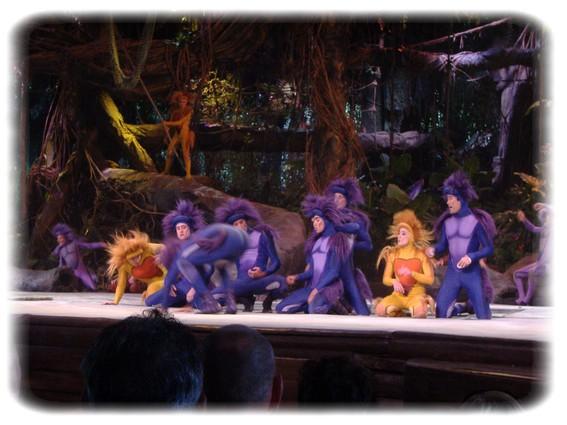 Spectacle: Tarzan, la rencontre. (représentation annulée pour 2013) Dscf2911
